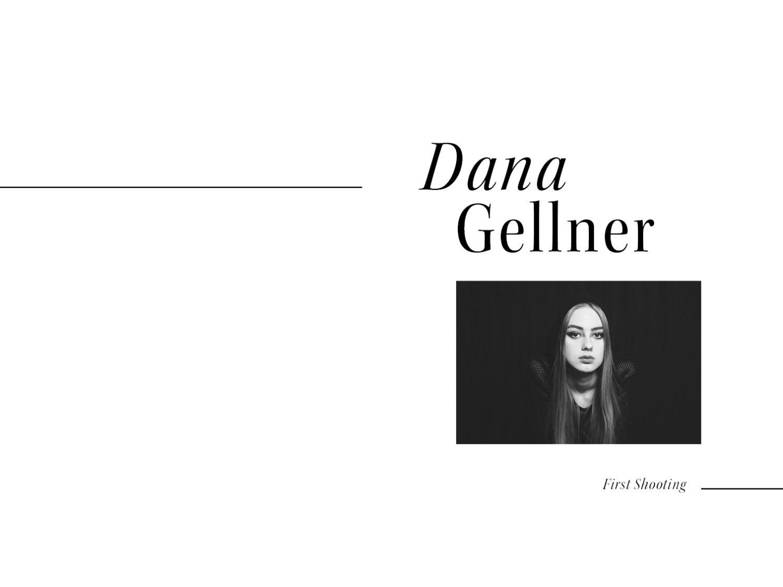 """Dana Gellner – First Shooting"""